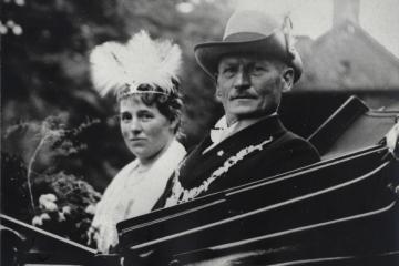 1930 Bernhard I. Bürmann - Luzia I. Haake geb. Bicker