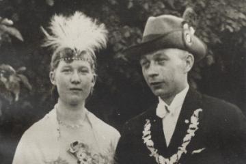 1933 Johann I. Werwer - Änne I. Dreckmann