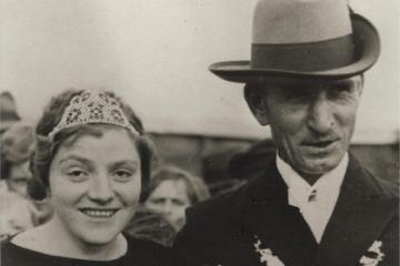 1936 Bernhard II. Dreckmann - Erna I. Enning geb. Schäfer