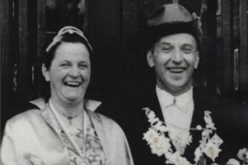 1950 Ferdinand I. Sax - Änne II. Frintrup geb. Berendsen