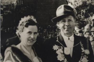 1954 Johannes III. Haake - Else I. Wellmann geb. Mettler
