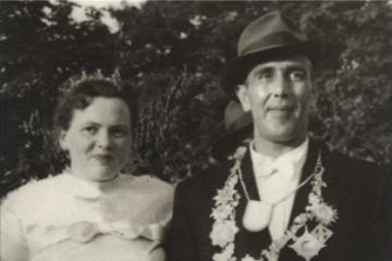 1956 Franz-Josef I. Kaiser - Maria III. Voßbeck-Elsebusch geb. Müller