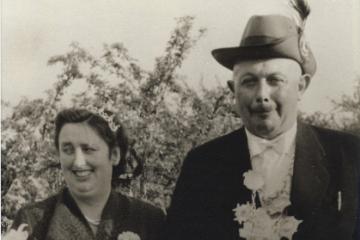 1958 Johann IV. Klapheck - Maria IV. geb. Haake geb. Wessenborn