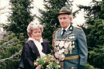 1986 Ludwig I. Klapheck - Inge I. Compernaß geb. Dobias