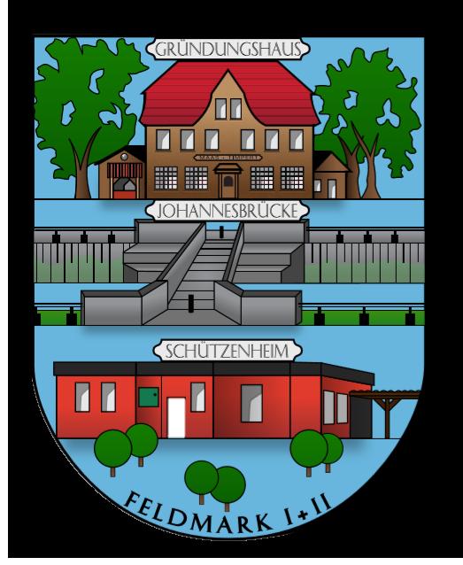 Allgemeiner Bürgerschützenverein Dorsten Feldmark I und II e.V. Logo